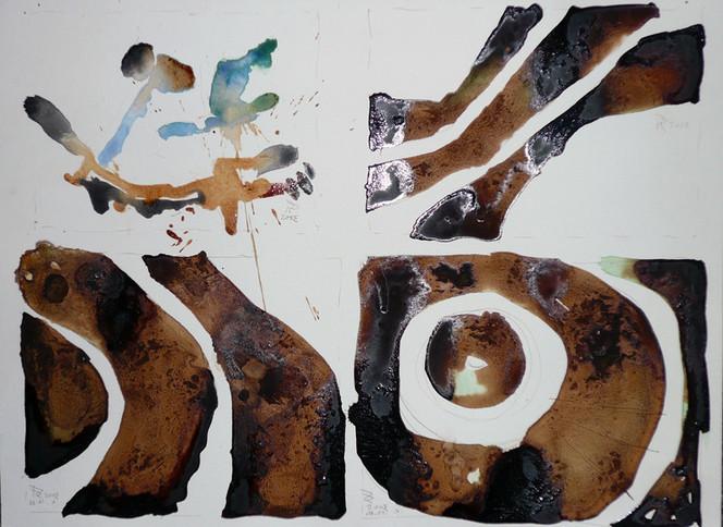 Krümmung, Traum, Kaffee, Windungen, Malerei, Surreal
