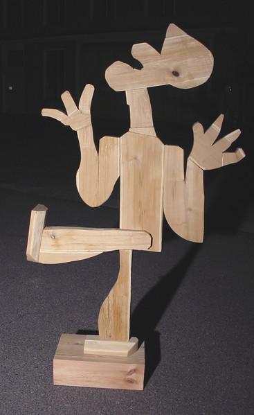 Holz, Maserung, Scheit, Finger, Leim, Robinie