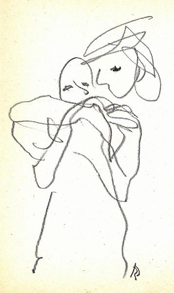 Zeichnungen, Umarmung