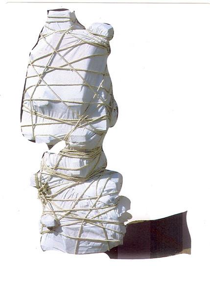 Leinentuch, Geheimnis, Seil, Digitale kunst, Objekt