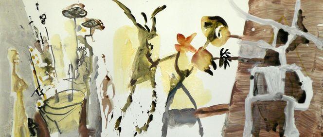 Malen, Sehen, Weihnachten, Atelier, Malerei,