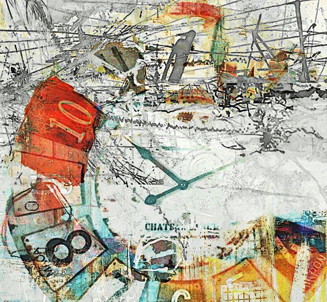 Digitale kunst, Digital, Zeit