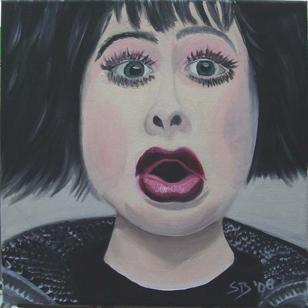 Frau, Ölmalerei, Malerei, Menschen,