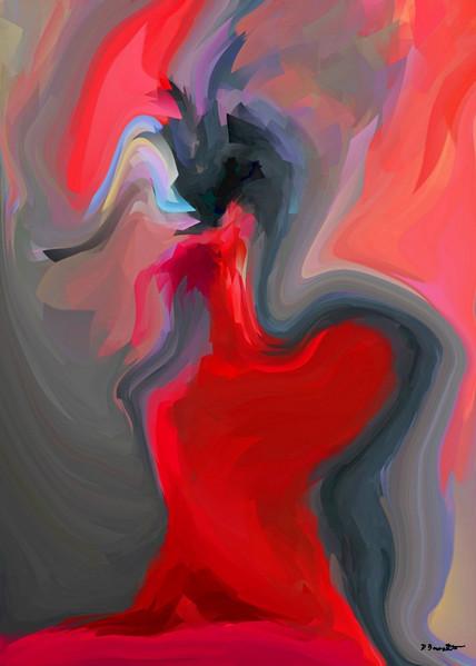 Malerei, Fotografie, Sterben, Rot, Freundschaft, Mixed media
