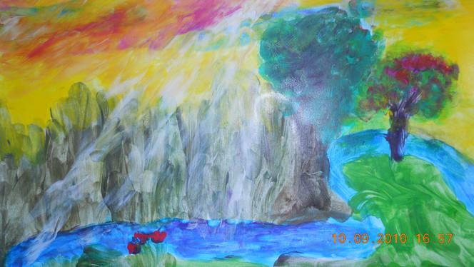 Abstrakt, Fantasie, Malerei