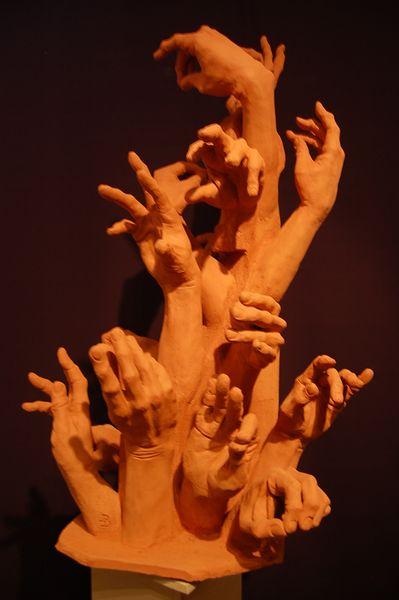 Gefühl, Keramiksculptur, Skulptur, Hände, Keramikfigur, Tonplastiken