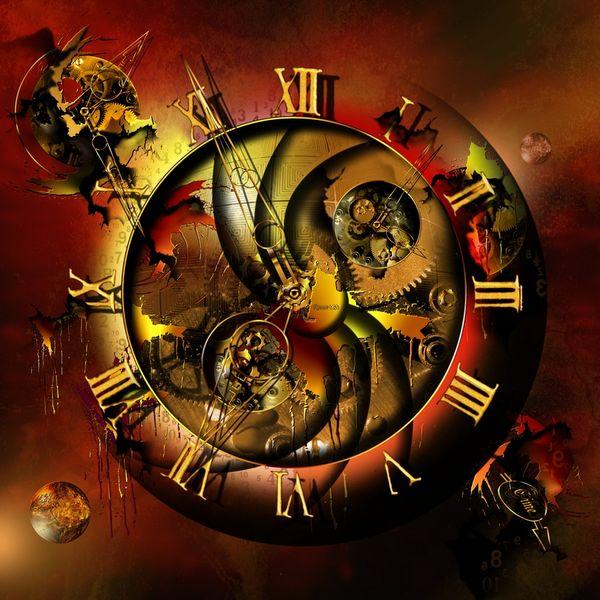 Planet, Stern, Uhrwerk, Zerstörung, Franziskusart, Himmel
