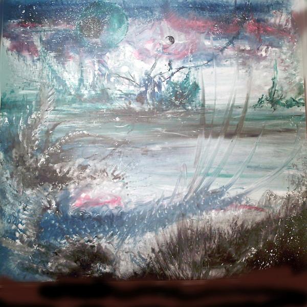 Natur, Landschaft, Acrylmalerei, Chi chuan, Malerei,