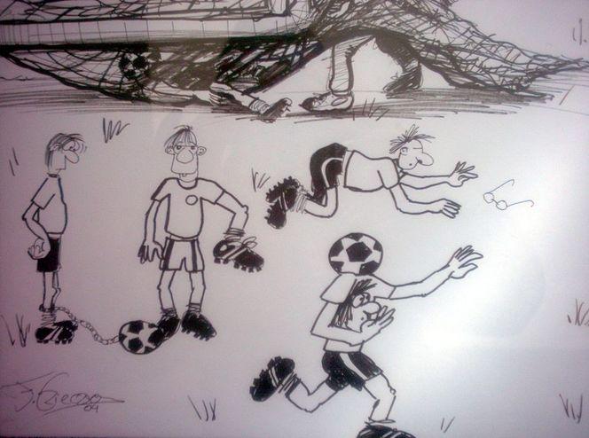 Comic, Karikatur, Homor, Zeichnung, Wm, Zeichnungen