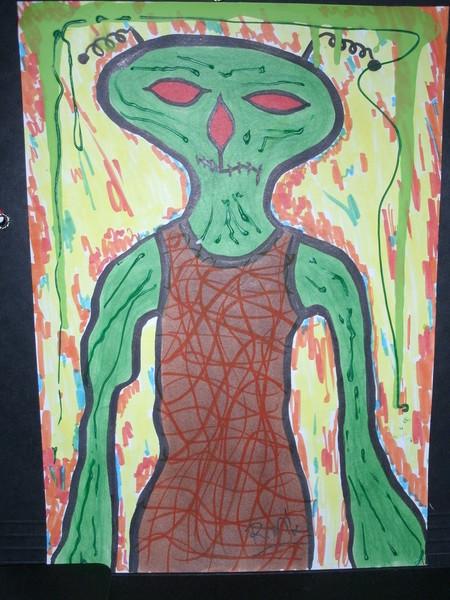 Malerei, Alien