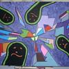 Alien, 3d, Acrylmalerei, Molotow