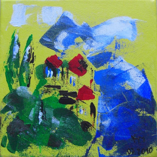 Natur, Mallorca, Meer, Blau, Malerei