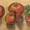 Studie, Apfel, Malerei