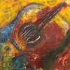 Musik, Gitarre, Malerei