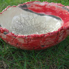 Keramik, Raku, Schale, Kunsthandwerk