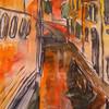 Venedig, Skizze, Stadt, Aquarellmalerei