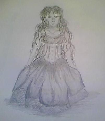 Kleid, Zeichnung, Zeichnungen
