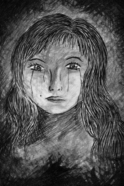 Tränen, Traurig, Malerei