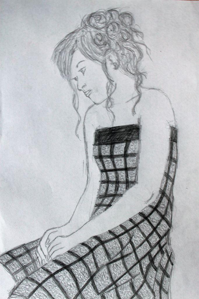 Bild: Traurig, Allein, Einsam, Zeichnungen von Katrin S ...