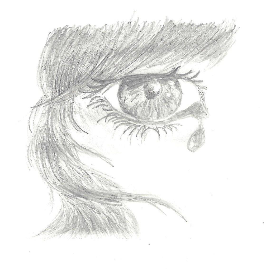 bild augen zeichnung zeichnungen portrait von katrin s bei kunstnet. Black Bedroom Furniture Sets. Home Design Ideas