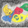 Maske, Pastellmalerei, Malerei