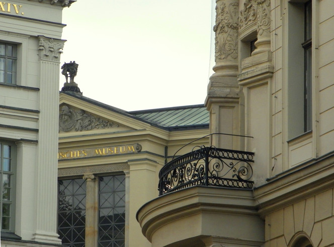 Baukunst, Halle, Universität, Saale, Fotografie, Architektur