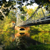 Fluss, Brücke, Fotografie, Halle