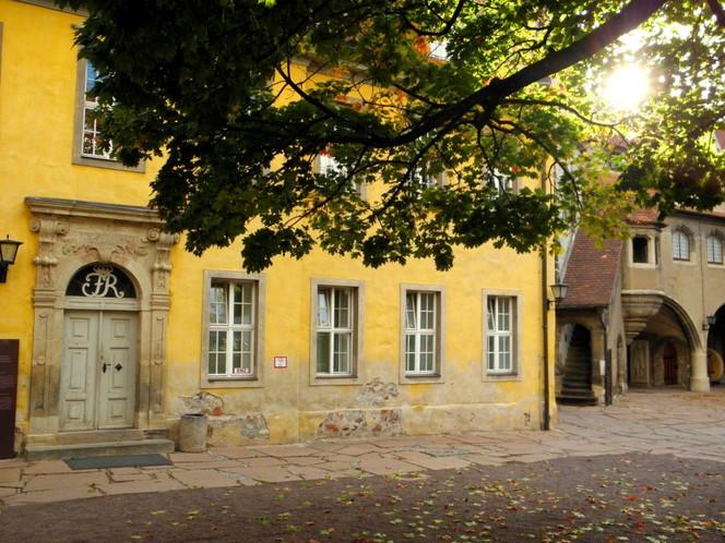 Moritzburg, Kunstfotografie, Renaissanceportal, Halle, Sommer, Saale