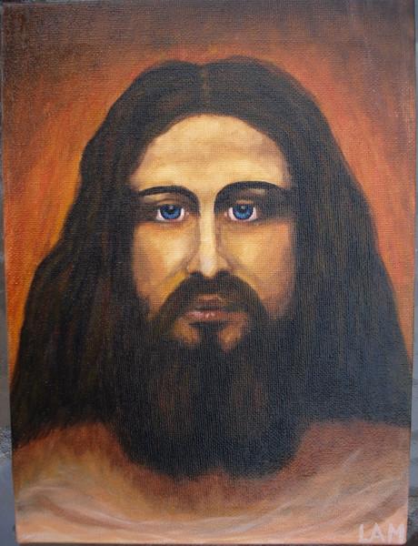 Iisus, Ölmalerei, Malerei,