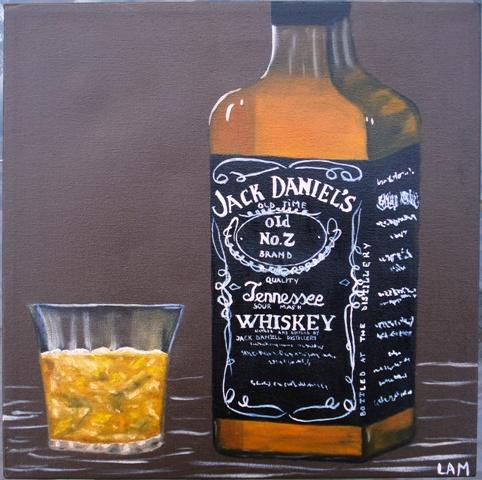 Ölmalerei, Malerei, Stillleben, Eis,