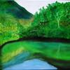 Landschaft, Ölmalerei, Malerei, Spiegel