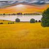 Landschaft, Ölmalerei, Malerei, Ruhe