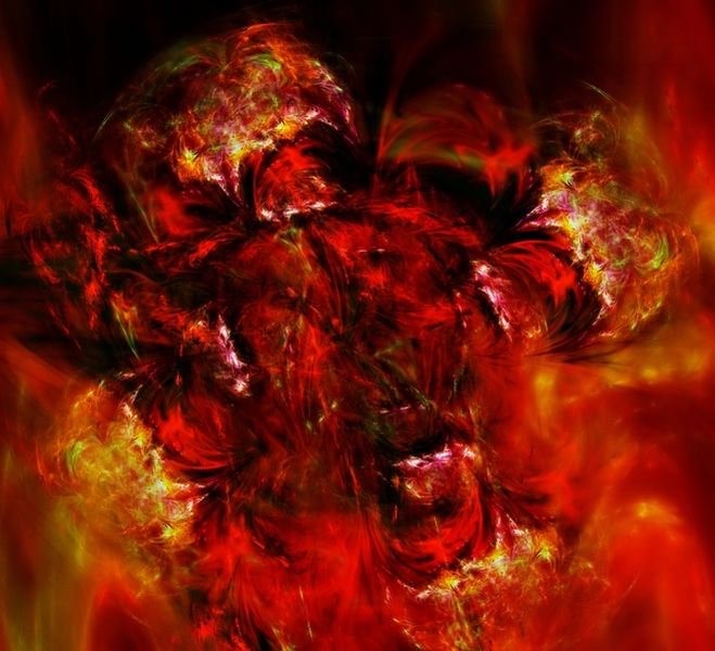 Digital, Explosion, Herr der fliegen, Unruhe, Dumpf, Feuer
