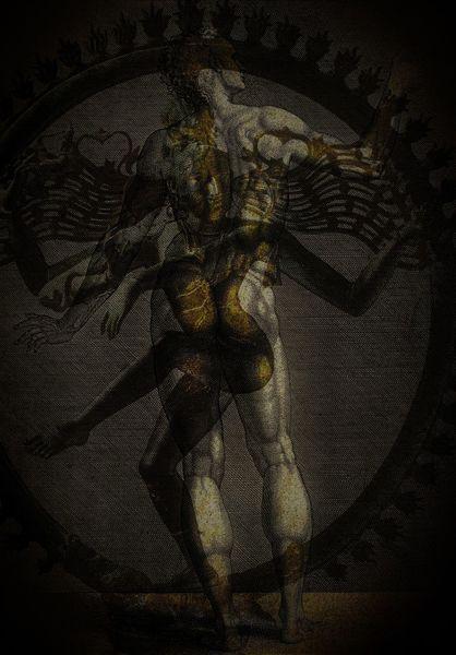 Tod, Muskulatur, Paranoia, Shiva, Tanz, Leben