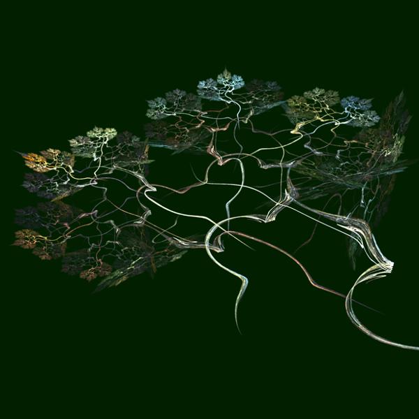 Computerlesbar, Wachsen, Grafik, Pflanzen, Abstrakt, Computer