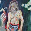 Acrylmalerei, Kind, Portrait, Malerei