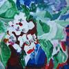 Abstrakt, Acrylmalerei, Blumen, Farben
