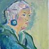 Malen, Portrait, Acrylmalerei, Malerei