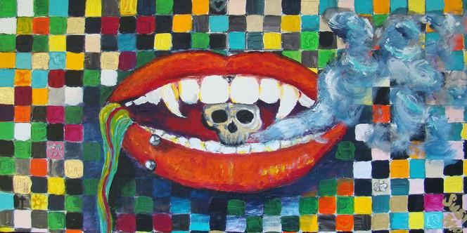 Acrylmalerei, Malerei, Figural, Sein