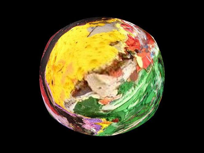 Bunt, Acrylmalerei, Bildbearbeitung, Erde, Farben, Digitale kunst