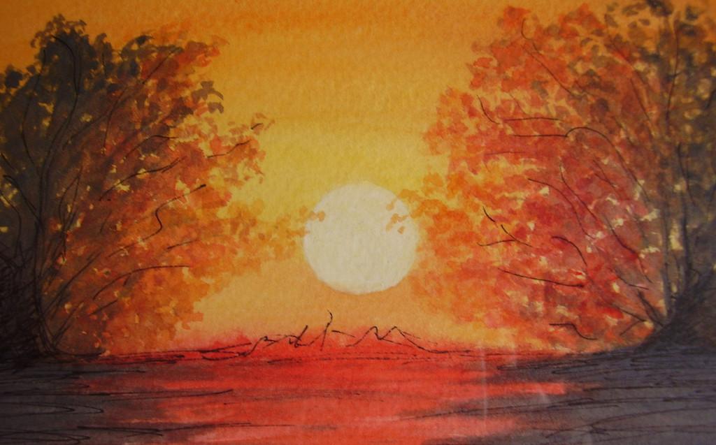 Heaven on fire - Natur, Himmel, Sonne, Sonnenuntergang von ...