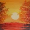 Baum, Aquarellmalerei, Natur, Himmel