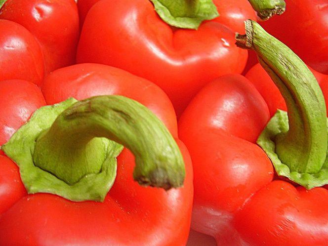 Rot, Gemüse, Paprika, Lebensmittel, Makro, Fotografie