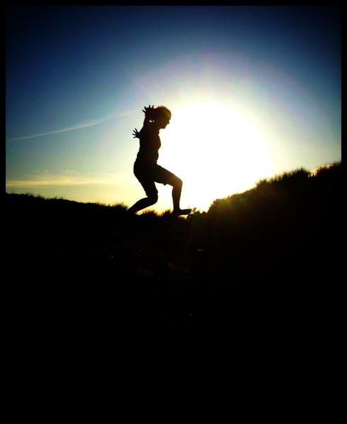 Sonnenuntergang, Sommer, Stimmung, Natur, Fotografie, Menschen