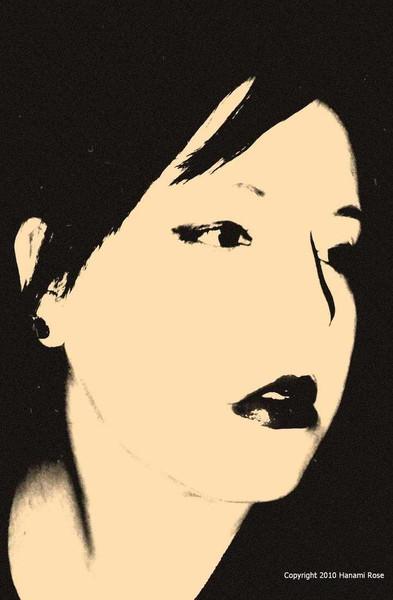 Schwarz weiß, Fotografie, Sinnlichkeit, Lippen, Frau, Reiseimpressionen
