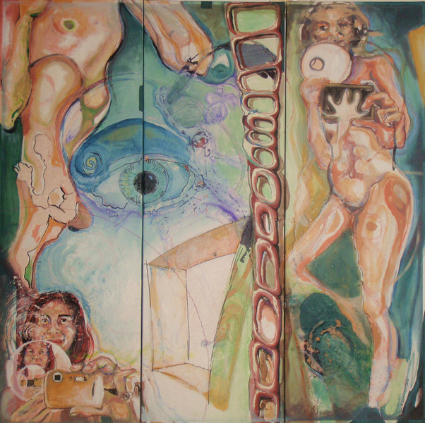 Kontrast, Augen, Artsonauts, Reflektionen, Goldartig, Surreal