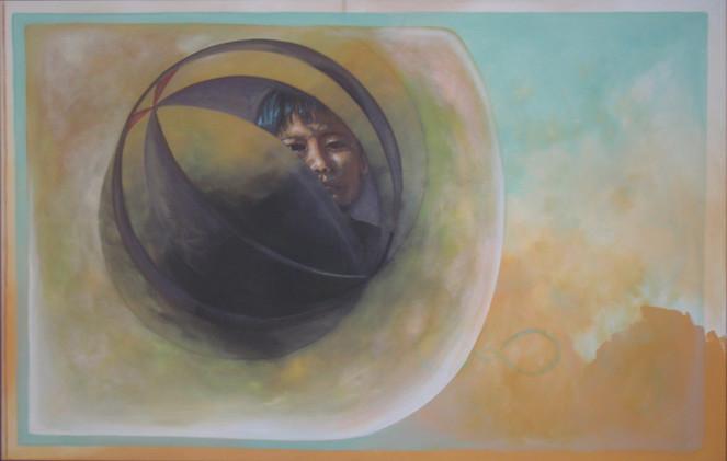 Moment, Poesie, Unendlichkeit, Acrylmalerei, Leinen, Malerei