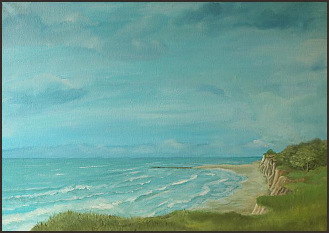 Ostsee, Landschaft, Strand, Brandung, Meer, Küste