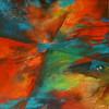 Rot, Fantasie, Blau, Bewegung