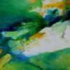 Fantasie, Landschaft, Grün, Blau